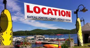 petit-Site Marina-location bateau- laurentides-saint-adolphe-d'howard-activité-plein air-tourisme-vacances-quoi faire
